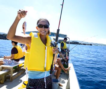 沖釣り体験